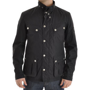 Barbour Norton Utility Jacket in Black Small